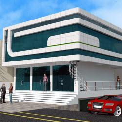 Commercial Project Designs by Osmani Associates, Karimnagar, Telangana, INDIA